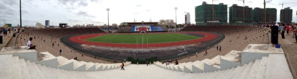 Phnom Penh National Olympic Stadium - Phnom Penh