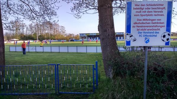 Blohm Bau Arena Stadion In Offenbuttel
