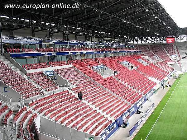 wwk arena stadion in augsburg. Black Bedroom Furniture Sets. Home Design Ideas