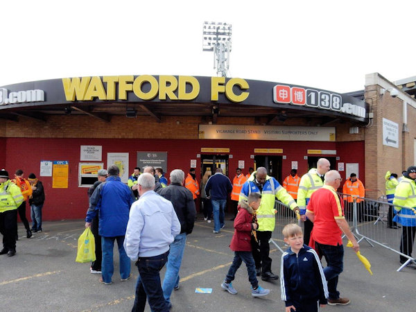 Vicarage Road Stadium - Watford
