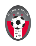 Wappen ehemals FC Apollo 74 Gellik