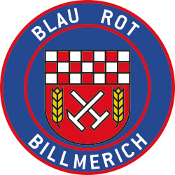 Wappen SV Blau-Rot Billmerich 1912 (Ground A)